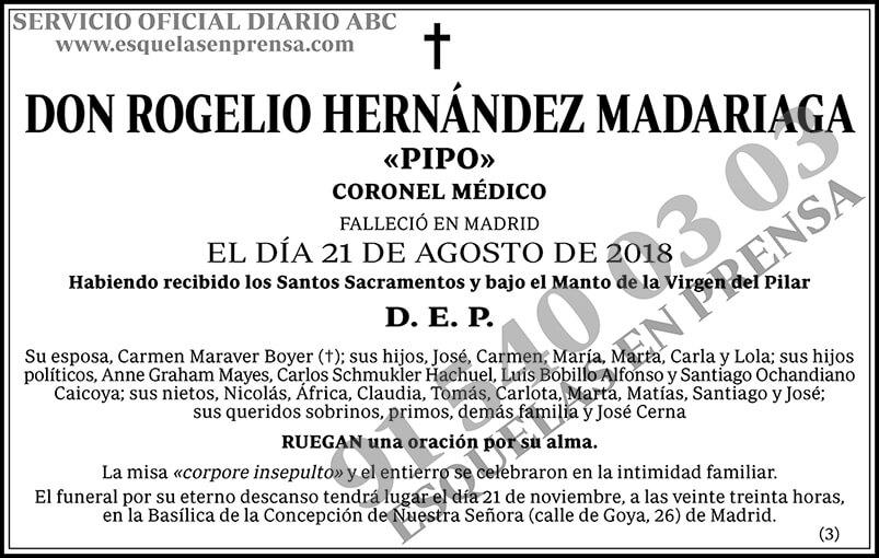 Rogelio Hernández Madariaga